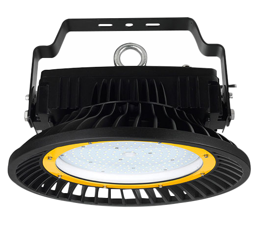 CE Rohs Listed Energy Saving High Power Meanwell Driver Reliable UFO Led High Bay 150w