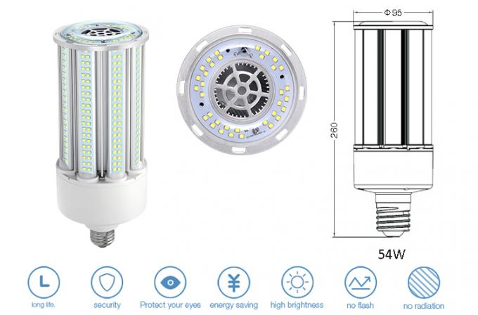150lm/W E26 LED Corn Bulb 360 Degree / Mogul Base LED Bulb With High Lumen , AC100-277V