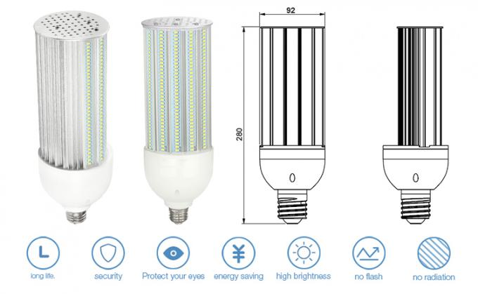 Ip65 Waterproof 180 Degree LED Bulb with Samsung / Epistar SMD Chip 60W , AC100-300V