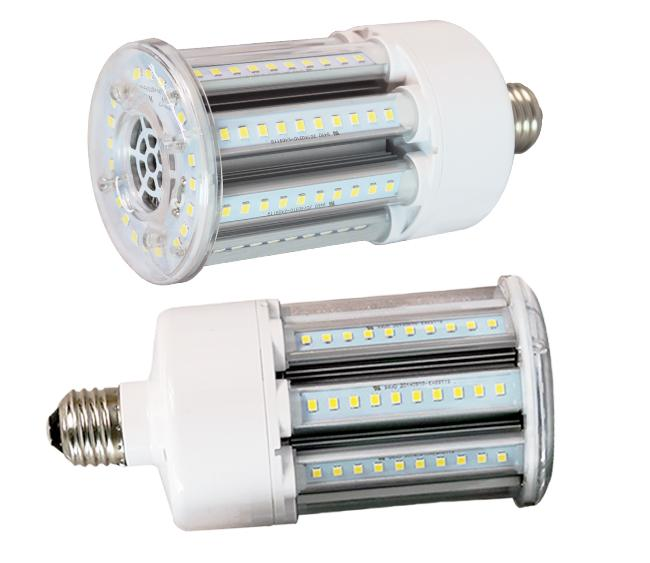 IP65 Samsung 2835 SMD 5000K Ra80 E26 Corn Led Light Bulbs 5 Year Warranty