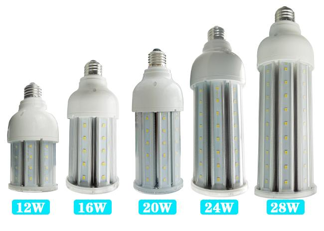 70mm Diameter Corn LED Lights 12w to 28w Bulb Light Replace 100W HID HPS MH