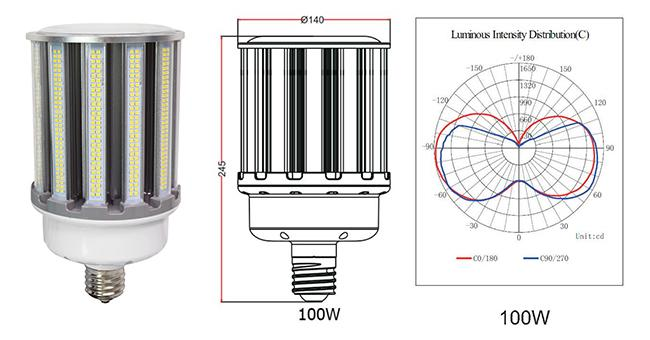 Samsung 100w Led Corn Bulb Replace The Conventional CFL Bulb 300w