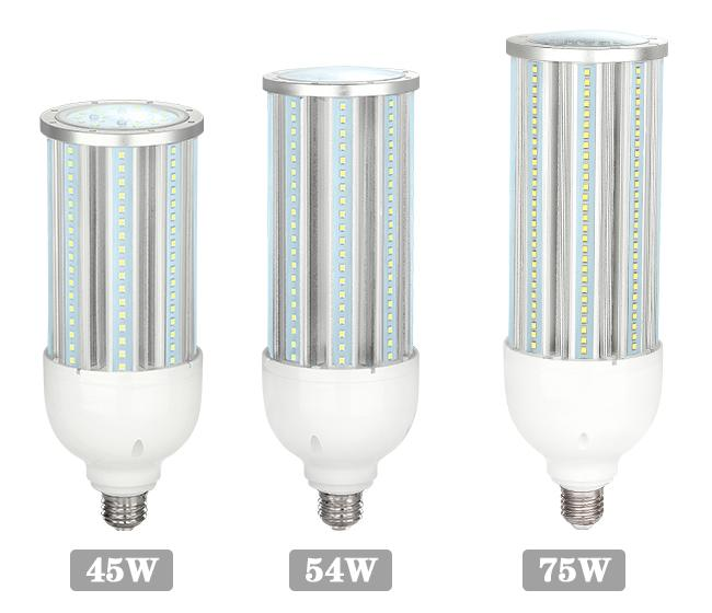 High Power 45W 54W 75W E39 LED Corn Light 277 Volt Led Corn Lamp with 5 Years Warranty