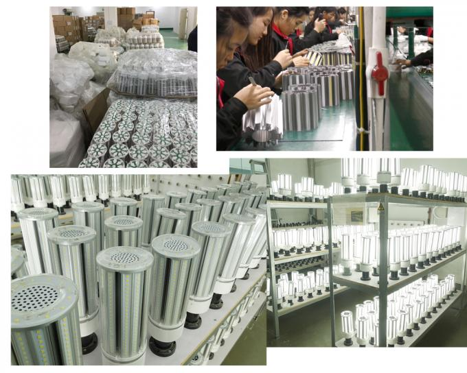 External 75W 10000Lm LED Corn COB Bulb For Warehouse And Street Lighting