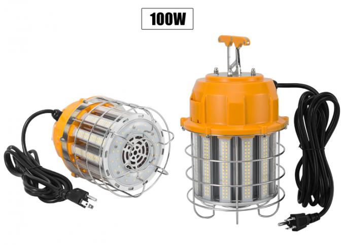 Ceiling Mount High Bay LED Temporary Work Light Fixture 100 Watt , 12000 Lumen