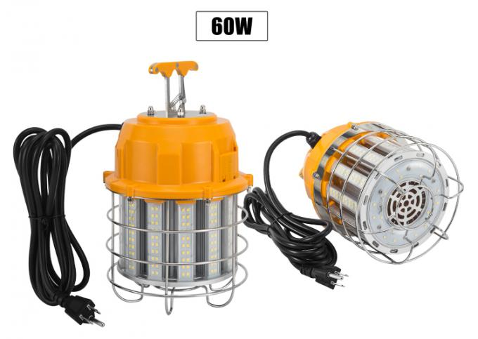 60 Watt LED Corn COB Bulb For Safety Protection / LED Temporary Light 7800lm