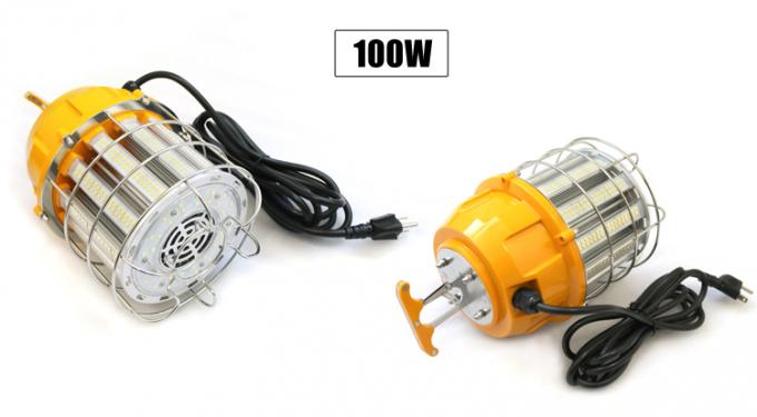 60w 100w LED temporary work light with stainless steel cover DLC UL listed
