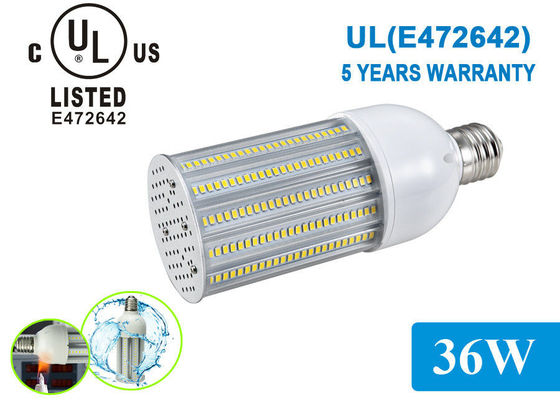 China Cool / Natural / Warm White Samsung 5630 E26 E39 Led Corn Lighting Bulb 36 W IES File Approved supplier