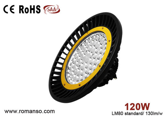 China Super Bright 120w Exterior UFO LED High Bay Light Replace Metal Halide Lamp supplier