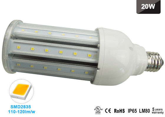 China 2100lm 20W E26 LED Corn Bulb 5000K For Outdoor Street Lighting / Workshop Lighting supplier