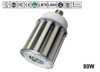 China IP65 High lumen 80w E39 E40 LED Corn Light Ventilation heat sink supplier