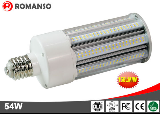 China 150Lm/W E39 E40 LED Corn Light 54W 60W IP65 Waterproof With 6000V High Voltage Surge Protection supplier