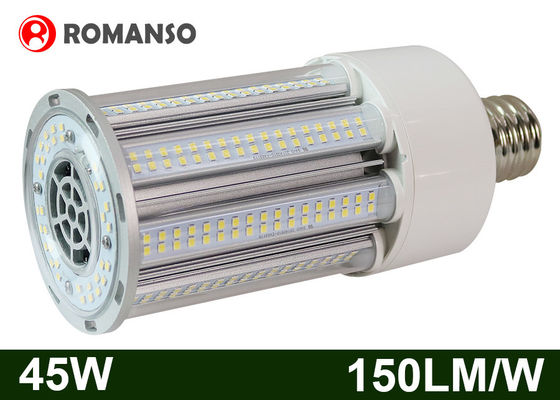China AC100-300V 45W IP65 E26 LED Corn Bulb Light White Energy Saving supplier