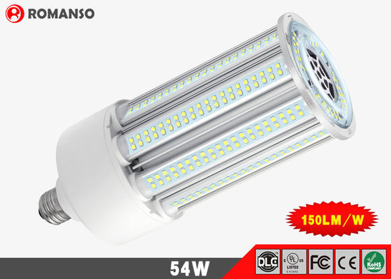 China Samsung 54 Watt LED Corn COB Bulb , 4000k LED Corn Light E27 5 Years Warranty supplier