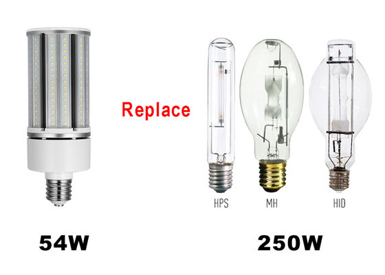 China AC100-300v Samsung/Epistar 5940lm 54W DLC LED Corn Light with IP65 waterproof supplier