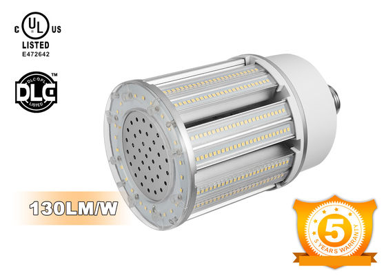 China Aluminum Heat Sink E39 LED Corn COB Bulb 277V For Closed Fixture , 100W Power supplier