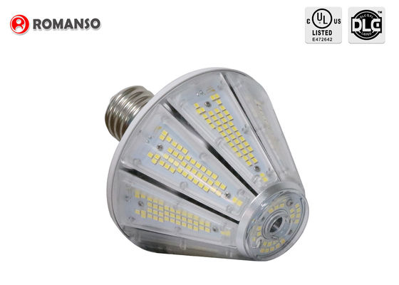 China 40w E26 LED Corn Bulb 6000Lm 6500K Cool White For Post Top Garage Lighting supplier