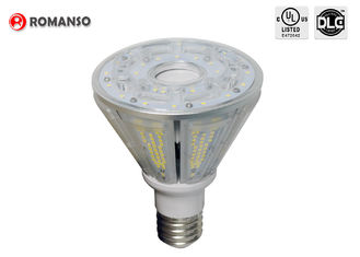 China UL DLC Pyramid Shaped Corn Cob Led Lights Bulb E39 E40 Base 40W Waterproof IP65 supplier