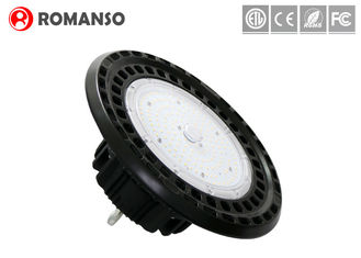 China IP65 130lm / w Auminlum UFO Led High Bay Light , Bright industrial high bay lights supplier