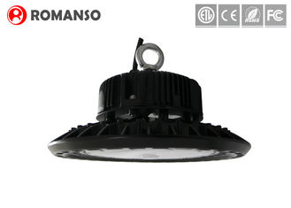 China 80w Meanwell Driver SMD 3030 UFO Led High Bay 130lm / w Ra >80 4000k supplier