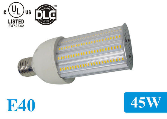 China UL Listed Waterproof IP65 110lm / w E40 LED Corn Light , 180 Degree Corn Lamp Led factory