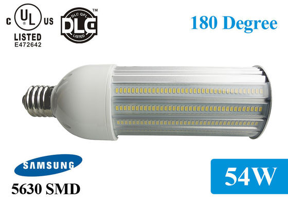 China 3000K-6000K Φ92*280mm  IP65 Outdoor 5940lm 54w 180 Degree LED Bulb distributor