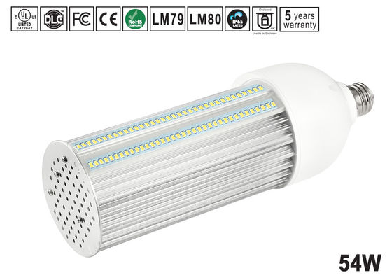 China 54W Samsung / Epistar 180 Degree LED Bulb , Cool White e40 led corn light for shoebox retorfit distributor