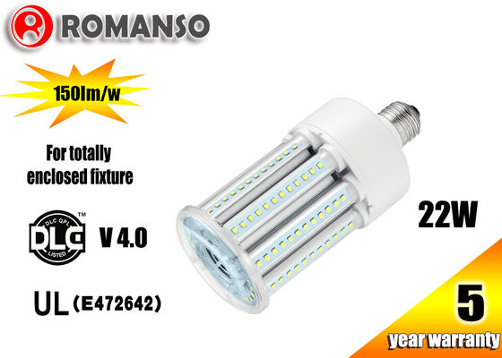 China 22w E27 LED Corn COB Bulb with Samsung / Epistar SMD2835 LED Source , IP65 Waterproof factory