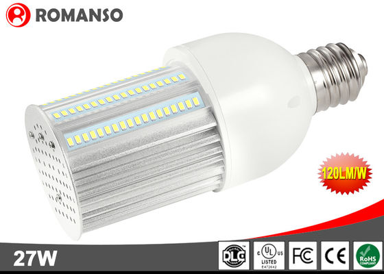 China High Lumen 3240Lm Energy Saving Light Bulbs Ip65 Waterproof / 27w Outdoor Street Lamps distributor