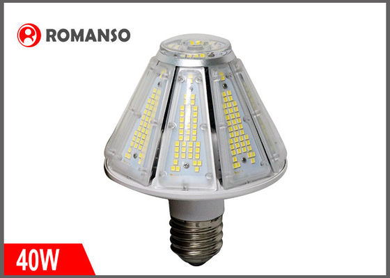 China Super Bright Pyramid Shaped 40W E26 Led Corn Bulb Light 360 Degree 2835 SMD distributor