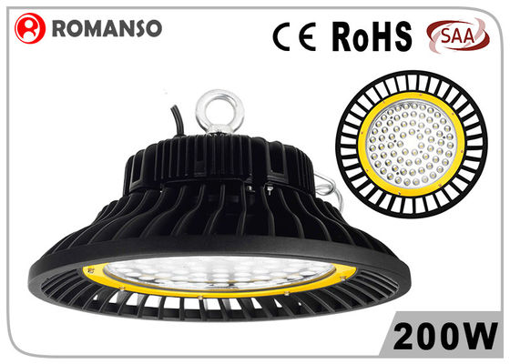 China Industrial Smd Indoor 200w high bay led with Meanwell Driver , energy saving distributor