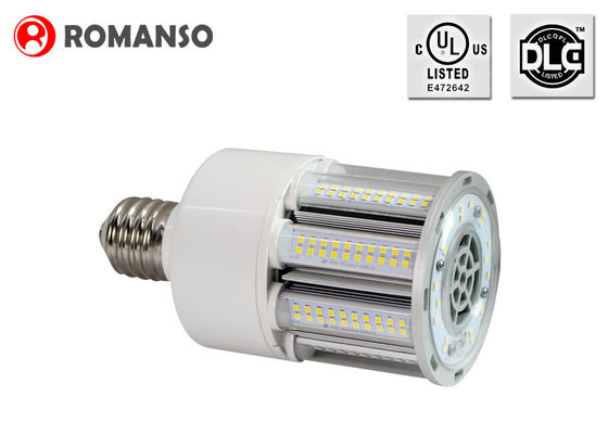 China 360 Degrees E26 LED Corn Bulb 27 Watt with Aluminum / PC cover , Energy Saving distributor