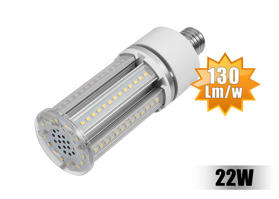 China 360 degree High CRI80 Corn Led Light Bulbs 22W With E27 E40 Base distributor
