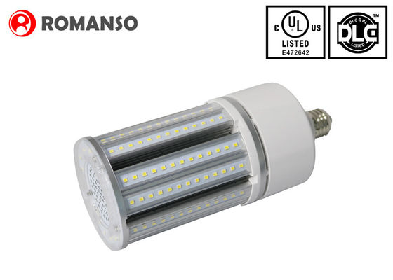 China 45w 3000k DLC LED Corn Light E26 / E39 5850LM IP65 For Street Lighting distributor