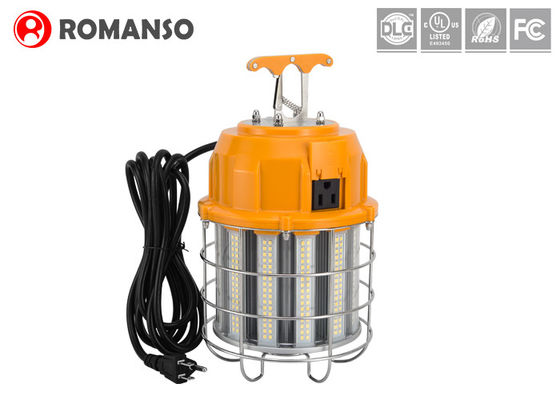 China 100 Watt Temporary Led Corn Bulb Waterproof  With Metal Cord Plug , AC100-300V distributor