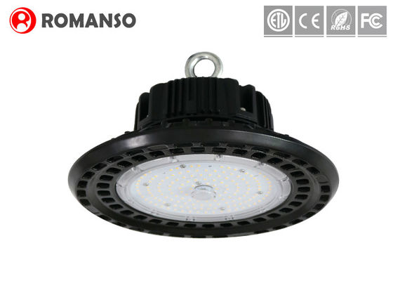 China 130lm/w Industrial UFO Led High Bay with Die - casting aluminum DLC UL CE RoHS Approved distributor