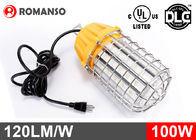 12000lm 100W LED Temporary Job Site Light 120VAC For Workshop / Construction