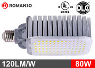 IP65 9600lm Led Street Light Bulbs , Led Retrofit Kit For 250W Mh Hid Fixtures